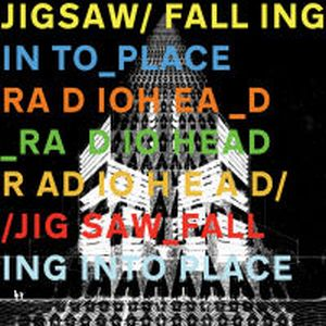 Radiohead Jigsaw Falling Into Place album cover