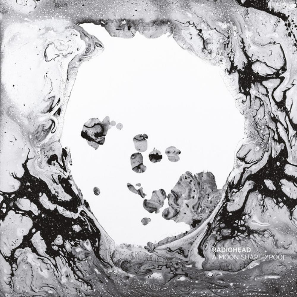Radiohead - A Moon Shaped Pool CD (album) cover