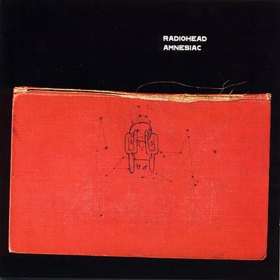 Radiohead - Amnesiac CD (album) cover