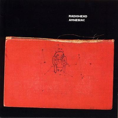 Radiohead Amnesiac album cover