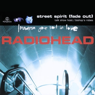 Radiohead Street Spirit (Fade Out) album cover