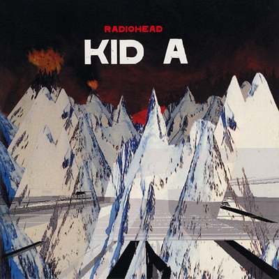Kid A by RADIOHEAD album cover