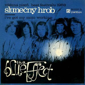 Blue Effect (Modr� Efekt; M. Efekt) - Slunečn� hrob CD (album) cover