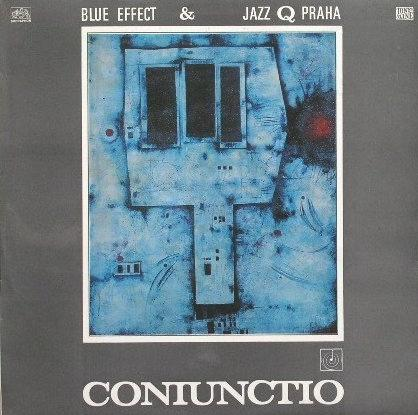 Coniunctio (& Jazz Q Praha) by BLUE EFFECT (MODR� EFEKT; M. EFEKT) album cover
