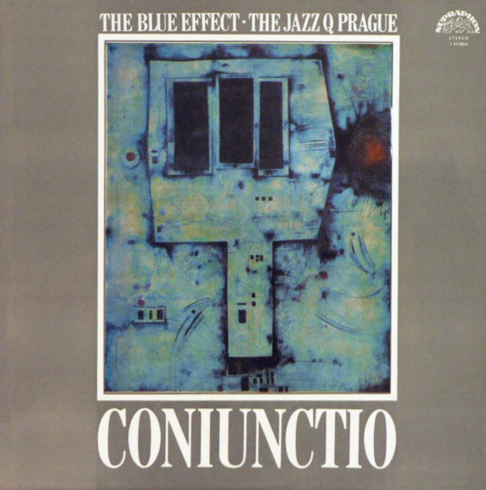 Blue Effect (Modrý Efekt; M. Efekt) - The Blue Effect & The Jazz Q Prague: Coniunctio CD (album) cover