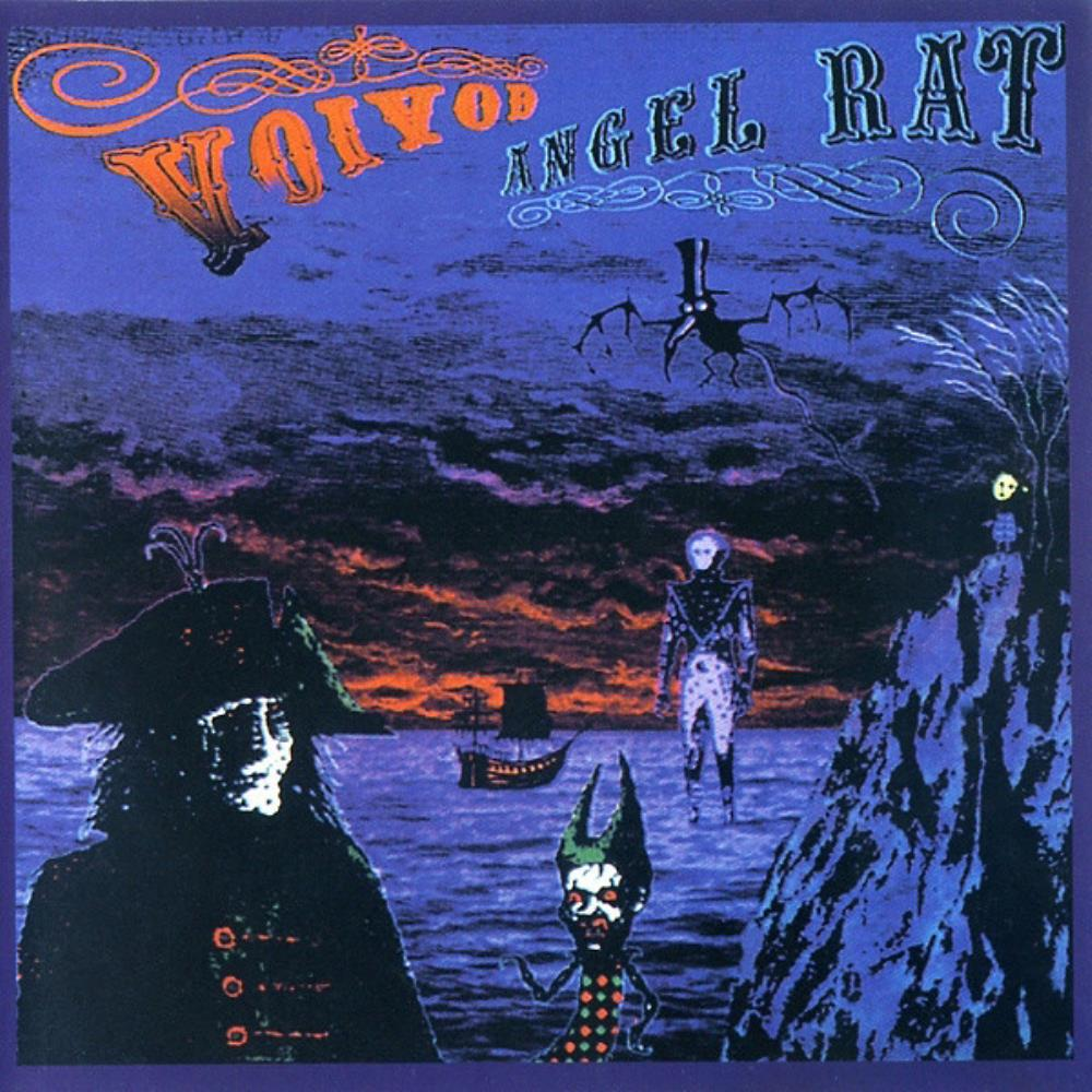 Angel Rat by VOIVOD album cover
