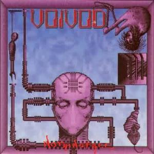 Voivod Nothingface album cover