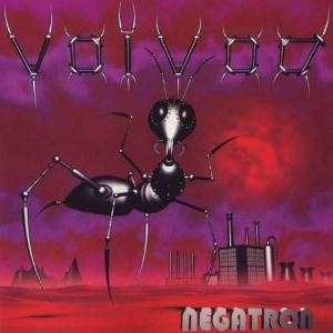 Voivod - Negatron CD (album) cover
