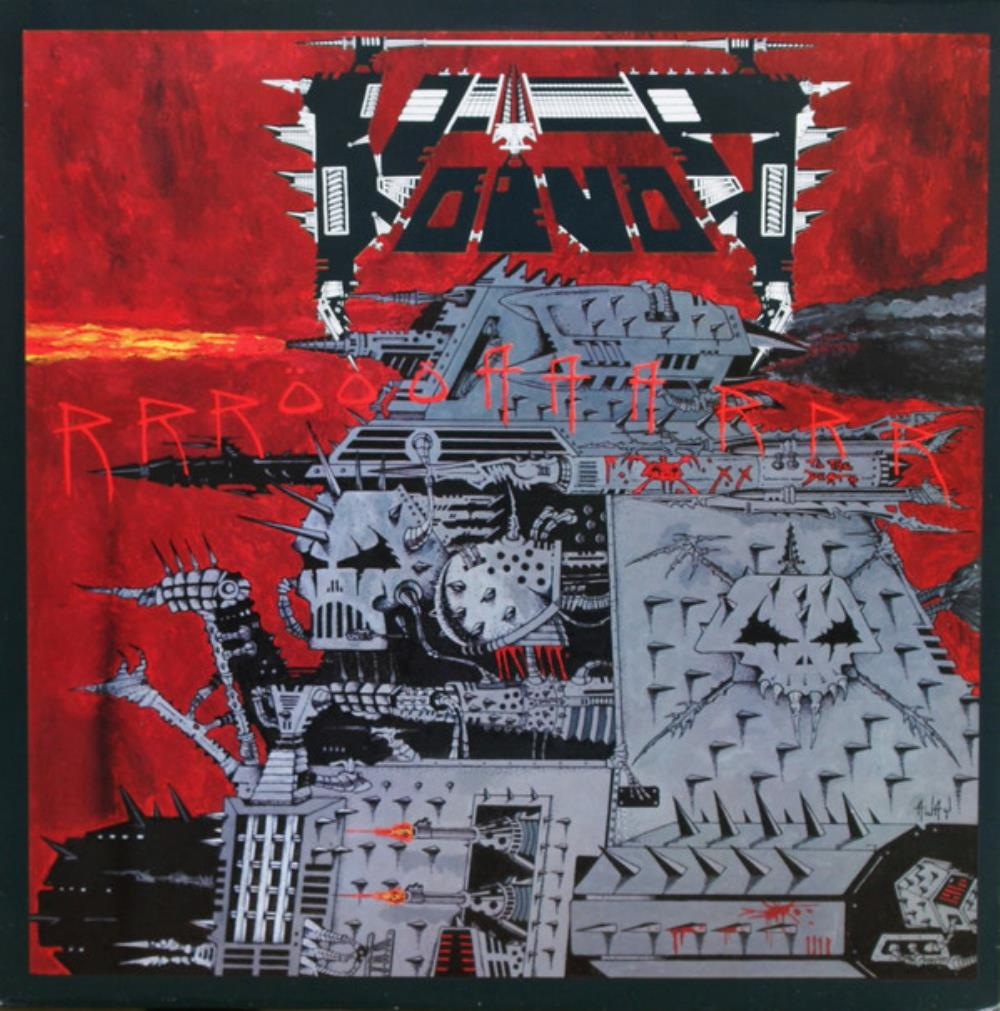 Voivod - RRROOOAAARRR!!! CD (album) cover
