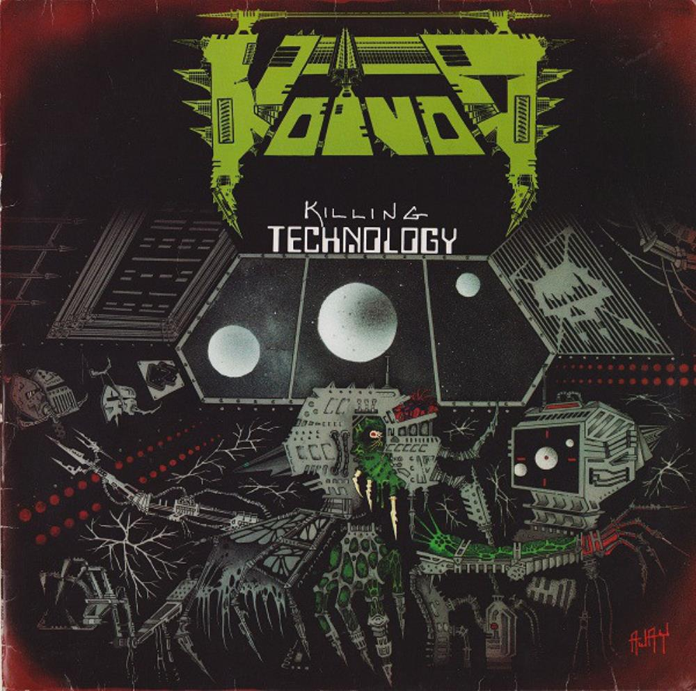 Killing Technology by VOIVOD album cover