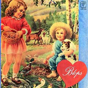 Blops (aka Del Volar De Las Palomas) by BLOPS album cover