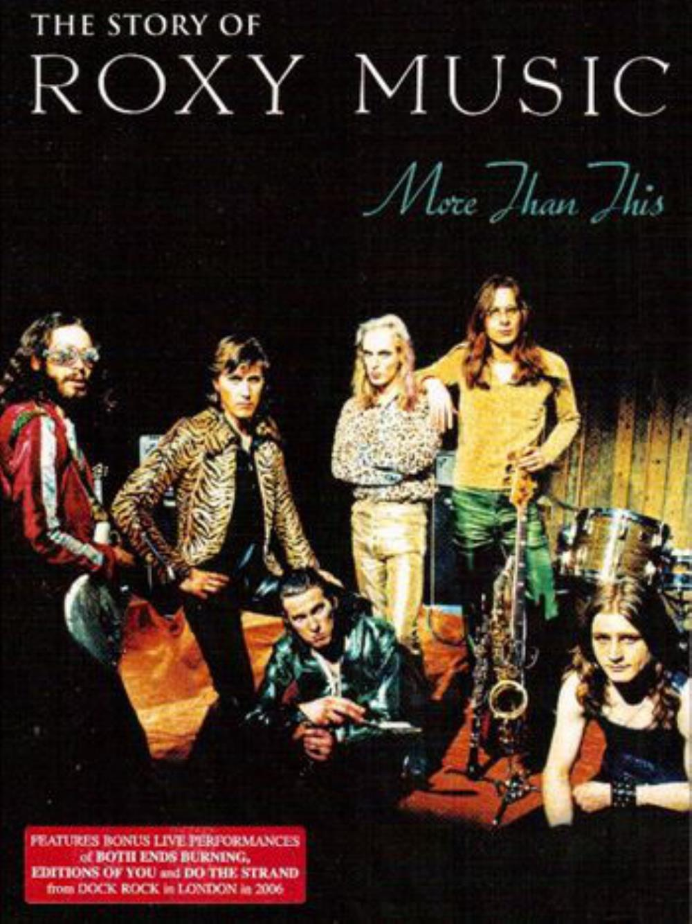 The Story of Roxy Music - More Than This by ROXY MUSIC album cover