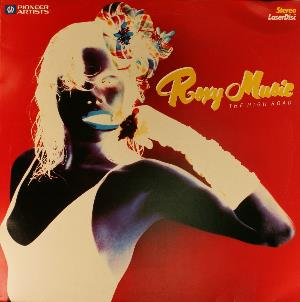 Roxy Music The High Road album cover