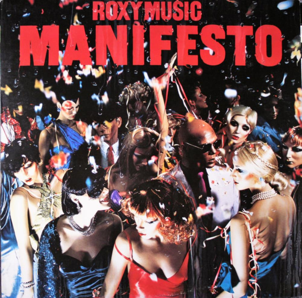 Roxy Music Manifesto album cover