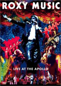 Roxy Music Live At The Apollo album cover