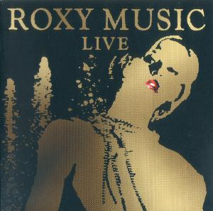 Roxy Music Live album cover
