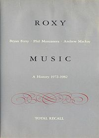 Roxy Music - Total Recall CD (album) cover
