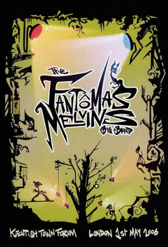 Fantomas Live From London 2006  album cover