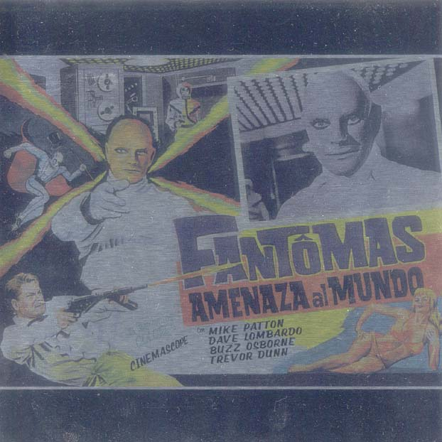 Fantomas - Fantômas CD (album) cover