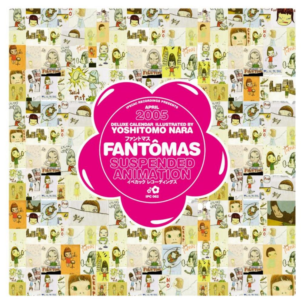 Suspended Animation by FANTÔMAS album cover