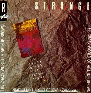 The Arthur Brown Band Strangelands album cover