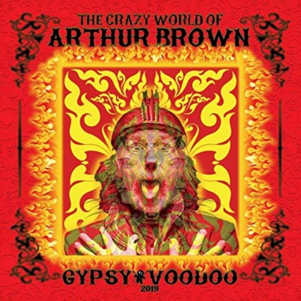 The Crazy World Of Arthur Brown: Gypsy Voodoo by BROWN BAND, THE ARTHUR album cover