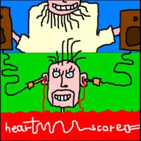 Heartscore Straight To The Brain album cover