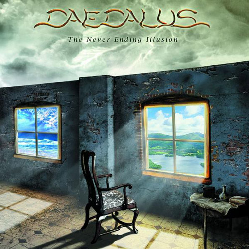 Daedalus - The Never Ending Illusion CD (album) cover