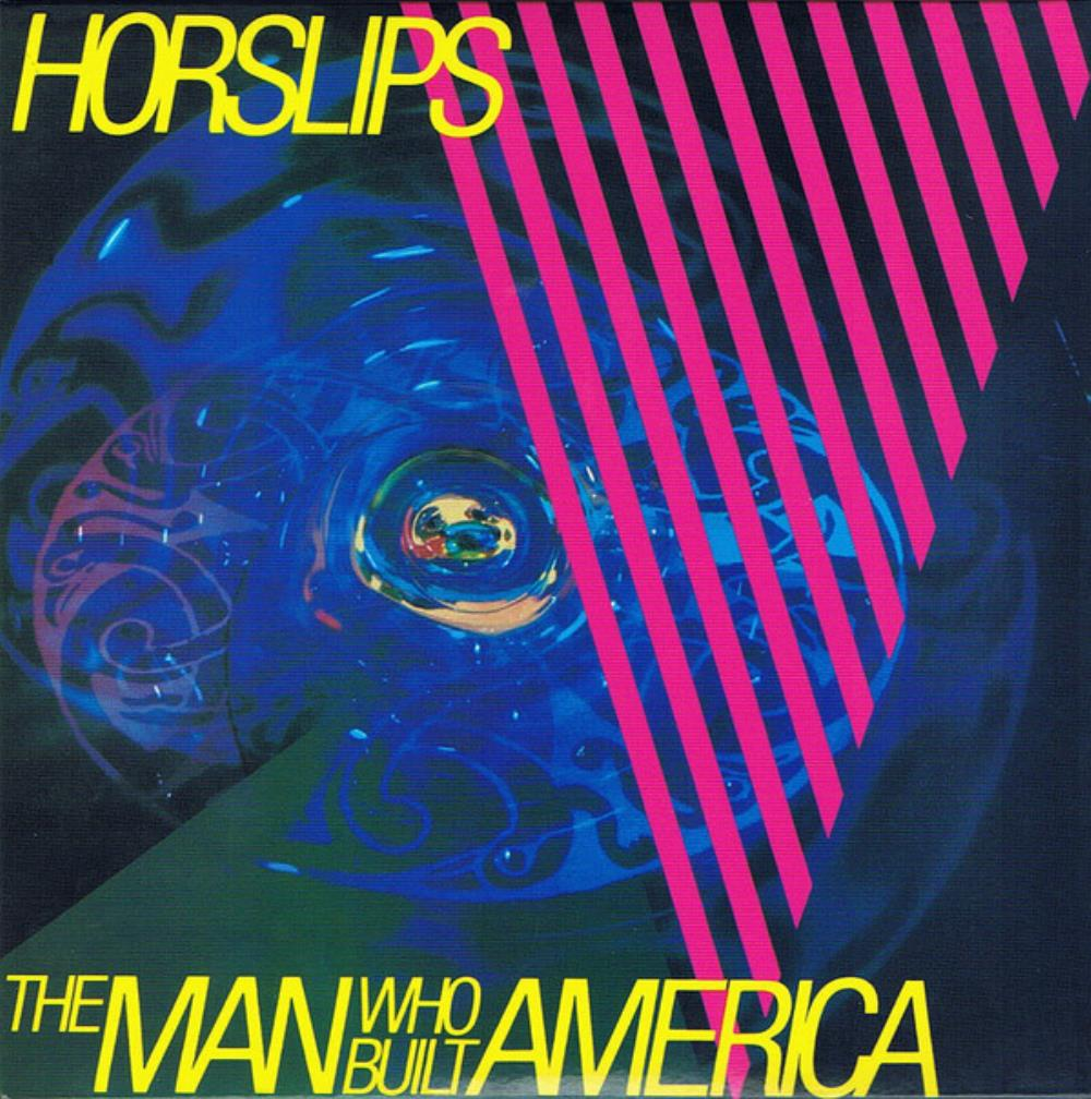 Horslips - The Man Who Built America CD (album) cover