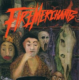 Fire Merchants - Landlords of Atlantis  CD (album) cover