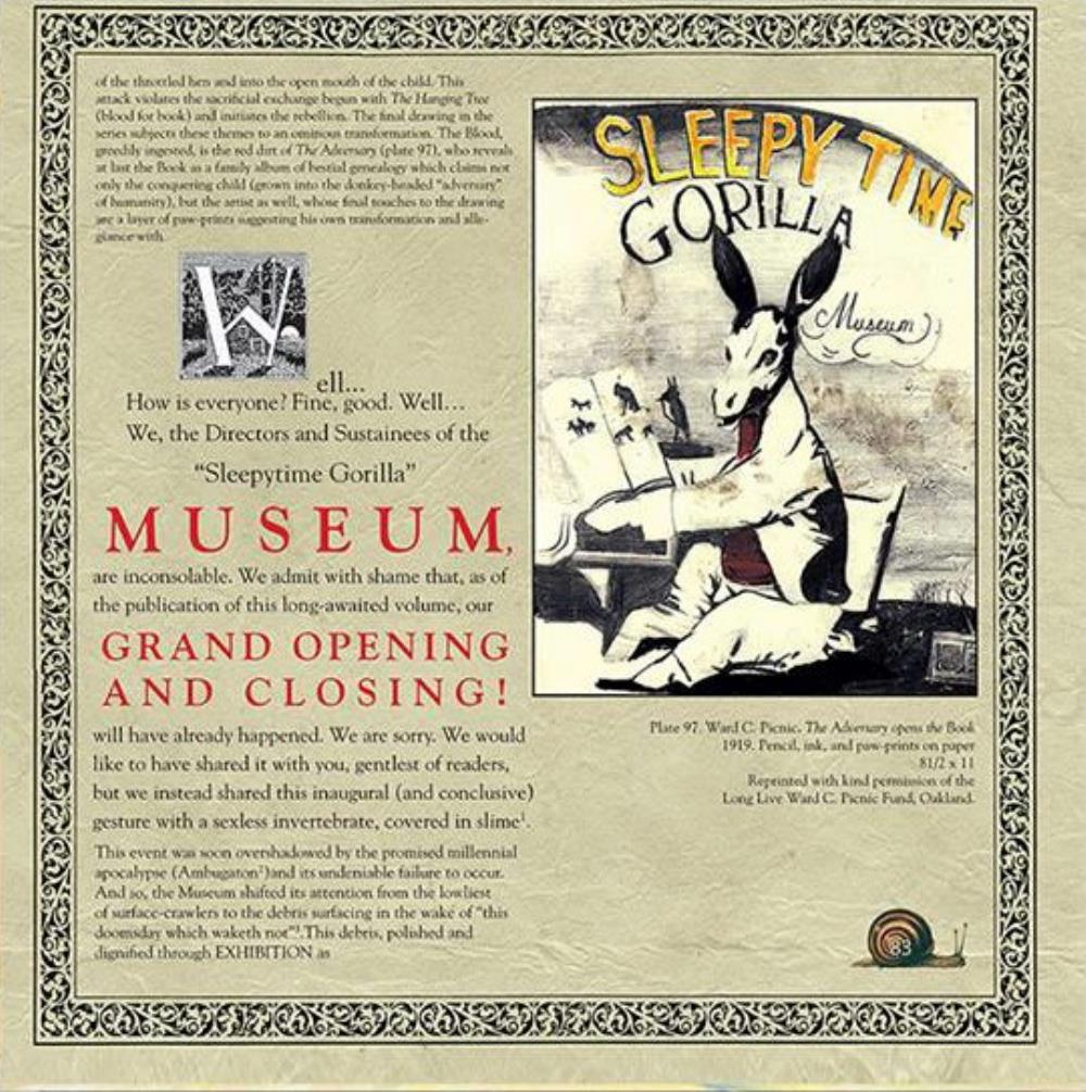Sleepytime Gorilla Museum - Grand Opening And Closing CD (album) cover