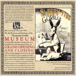 Sleepytime Gorilla Museum Grand Opening And Closing album cover