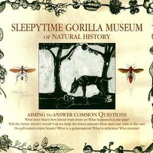 Sleepytime Gorilla Museum - Of Natural History CD (album) cover