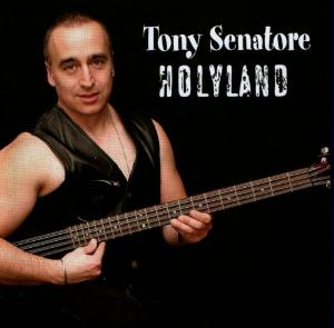 Tony Senatore - Holyland CD (album) cover