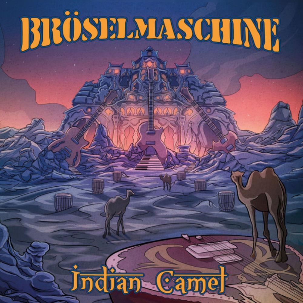 Indian Camel by BRÖSELMASCHINE album cover