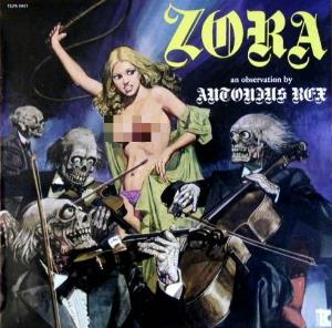 Antonius Rex - Zora CD (album) cover