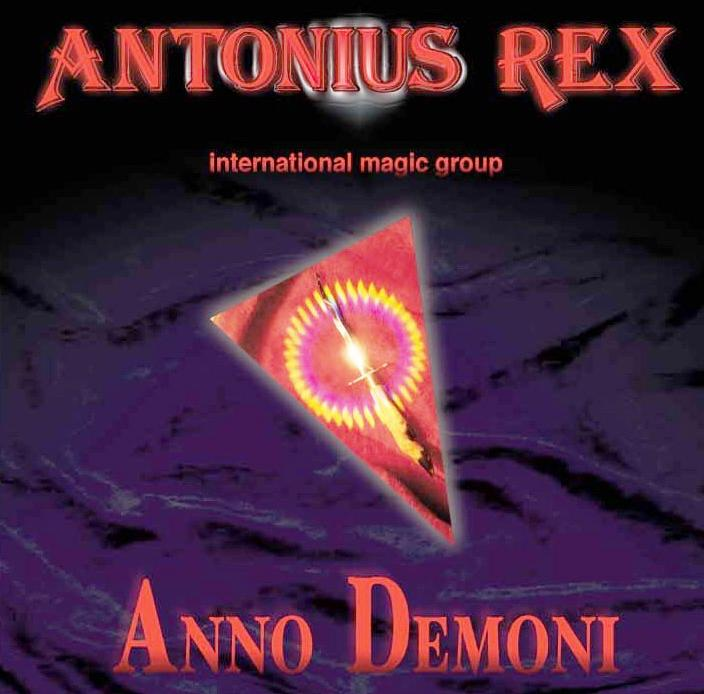 Antonius Rex - Anno Demoni CD (album) cover
