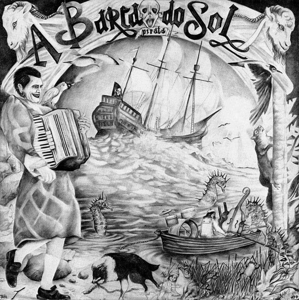 A Barca Do Sol Pirata album cover