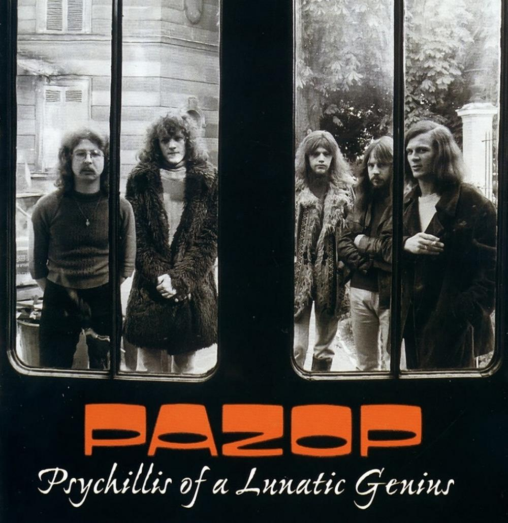 Psychillis Of A Lunatic Genius by PAZOP album cover