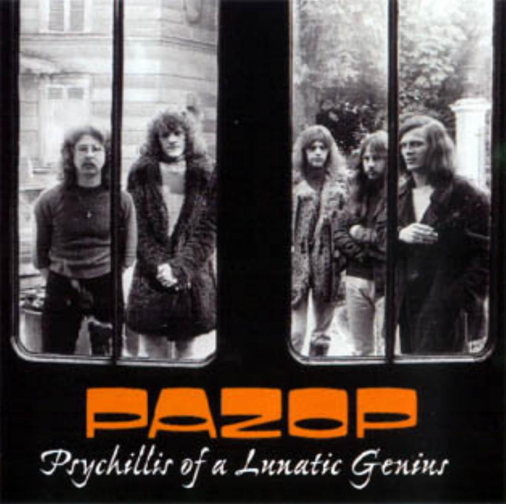 Psychillis Of A Lunatic Genius by PAZOP album cover