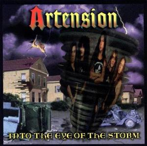 Into the Eye of the Storm  by ARTENSION album cover