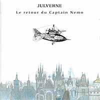 Le Retour Du Captain Nemo by JULVERNE album cover