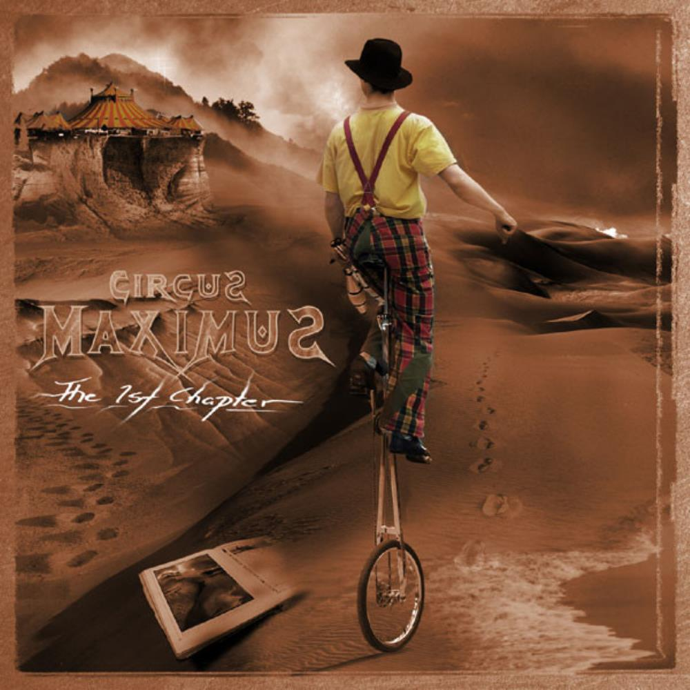 Circus Maximus - The 1st Chapter CD (album) cover