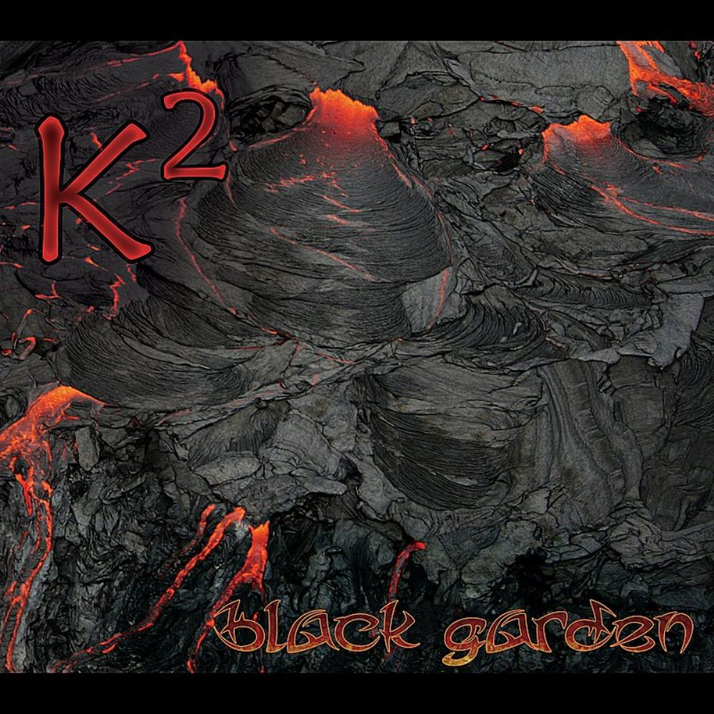 K2 - Black Garden CD (album) cover