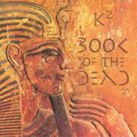 K2 - Book Of The Dead CD (album) cover