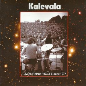 Live In Finland 1973 & Europe 1977 by KALEVALA album cover