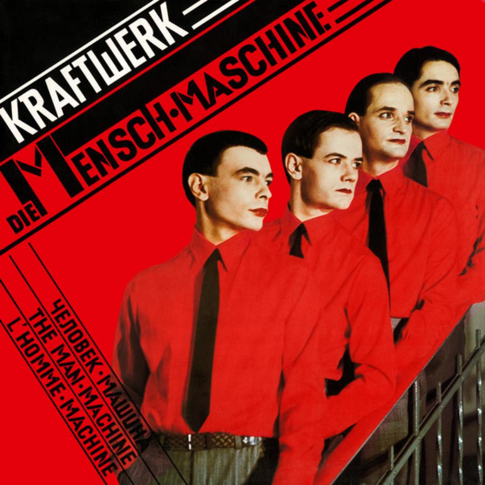 Kraftwerk The Man-Machine [Aka: Die Mensch-Maschine] album cover