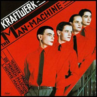 Kraftwerk The Man-Machine (Die Mensch-Maschine) album cover