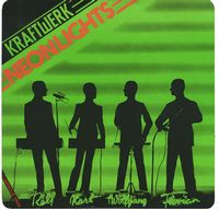 Kraftwerk Neon Lights album cover