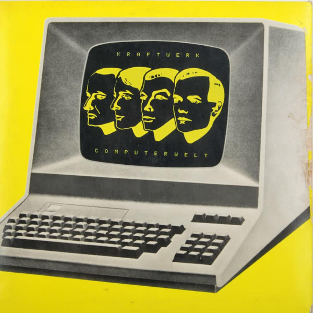 Kraftwerk Computer World [aka: Computerwelt] album cover